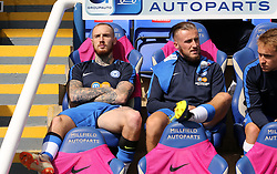 Marcus Maddison of Peterborough United (left) is recalled to the bench for the match against Luton Town - Mandatory by-line: Joe Dent/JMP - 18/08/2018 - FOOTBALL - ABAX Stadium - Peterborough, England - Peterborough United v Luton Town - Sky Bet League One