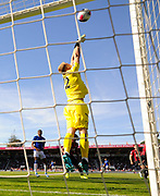 Aaron Ramsdale (12) of AFC Bournemouth makes a saveduring the Premier League match between Bournemouth and Everton at the Vitality Stadium, Bournemouth, England on 15 September 2019.