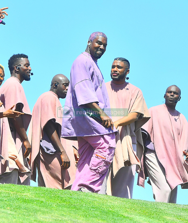 Kanye West Performed his popular and much anticipated 'Church Sunday Services' at the Coachella Music and Arts Festival on Easter Sunday Morning in Indio, CA. The Rapper performed some of his greatest hits 'Church Style'. All the Kardashians & Jenners were in full attendance including Kim, Khloe, Kourtney, Kendall, Kylie, and Kris. Also there was Travis Scott who was seen snuggling up to Kylie, Hailey Baldwin, 2 Chains, DMX & Teyana Taylor, who also performed, Donald Glover aka Childish Gambino, Willow Smith, Jaden Smith, and Fai Khadra, who was seen getting close and cozy with Kendall Jenner. After the show, Kanye West and all the Kardashians headed backstage and mingled for a few minutes with a few celebs before heading to a brunch with family and friends. 21 Apr 2019 Pictured: Kanye West Performed his popular and much anticipated 'Church Sunday Services' at the Coachella Music and Arts Festival on Easter Sunday Morning in Indio, CA. The Rapper performed some of his greatest hits 'Church Style'. All the Kardashians & Jenners were in full attendance including Kim, Khloe, Kourtney, Kendall, Kylie, and Kris. Also there was Travis Scott who was seen snuggling up to Kylie, Hailey Baldwin, 2 Chains, DMX & Teyana Taylor, who also performed, Donald Glover aka Childish Gambino, Willow Smith, Jaden Smith, and Fai Khadra, who was seen getting close and cozy with Kendall Jenner. After the show, Kanye West and all the Kardashians headed backstage and mingled for a few minutes with a few celebs before heading to a brunch with family and friends. Photo credit: Ahmad Elatab / MEGA TheMegaAgency.com +1 888 505 6342