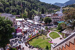 29.06.2019, Schladming, AUT, Rock the Roof 2019, im Bild Uebersicht // General View during the Rock the Roof Biker Meeting in Schladming, Austria on 2019/06/29. EXPA Pictures © 2019, PhotoCredit: EXPA/ JFK