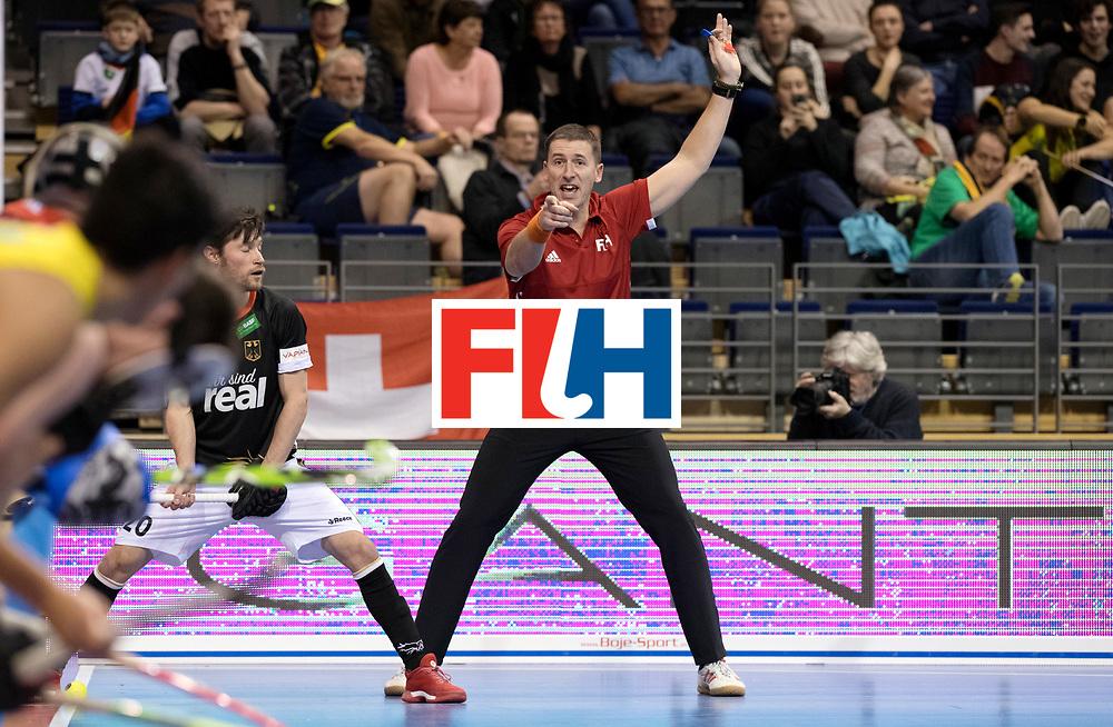 BERLIN - Indoor Hockey World Cup<br /> Men: Germany - Australia<br /> foto: EILMER Michael.<br /> WORLDSPORTPICS COPYRIGHT FRANK UIJLENBROEK