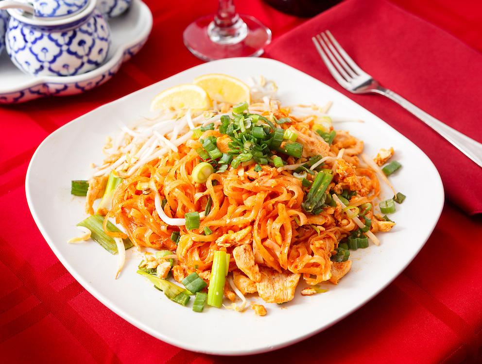 Thai Food at a Thai Restaurant