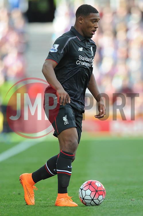 Jordon Ibe of Liverpool - Mandatory byline: Dougie Allward/JMP - 07966386802 - 09/08/2015 - FOOTBALL - Britannia Stadium -Stoke-On-Trent,England - Stoke City v Liverpool - Barclays Premier League
