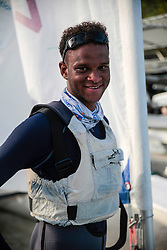 World Sailing Emerging Nations Program - Boca Chica Sailing Club, Santo Domingo 08/19/2017 - DAY 1- Jessee jackson from Cayman Islands