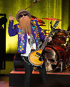 Billy Gibbons of ZZ Top brings their La Futura 2014 tour to the Moore Theatre in Seattle. Photo by John Lill