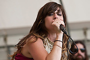 Nicole Atkins and the Black Sea at the 2011 Appel Farms Arts & Music Festival.