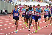 Chris O'Hare (GBR) wins the 1500m Men during the Muller Anniversary Games at the London Stadium, London, England on 9 July 2017. Photo by Jon Bromley.