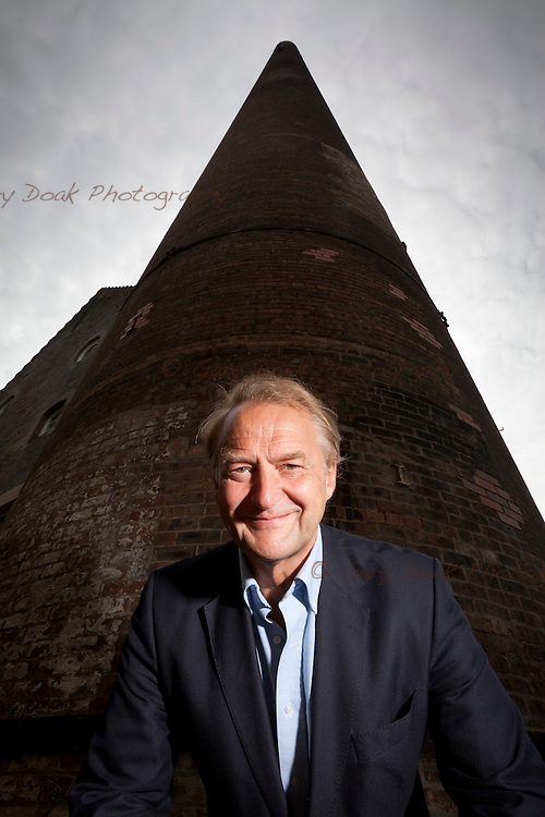 Alan Wolstenholme at the former site of Caledonian Distillery
