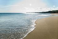Beautiful beach near the Villa Camilla Hotel in Pedasi, Panama.