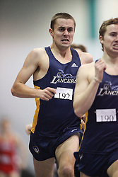 London, Ontario ---11-01-22---   Fraser Kegel of the Windsor Lancers competes at the 2011 Don Wright meet at the University of Western Ontario, January 22, 2011..GEOFF ROBINS/Mundo Sport Images.
