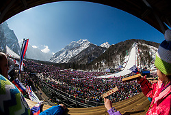 Feature during Ski Flying Hill Individual Competition at Day 4 of FIS Ski Jumping World Cup Final 2016, on March 20, 2016 in Planica, Slovenia. Photo by Vid Ponikvar / Sportida