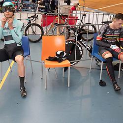 29-12-2019: Wielrennen: NK Baan: Alkmaar <br />De mannen van de kilometer Theo Bos en Sam Ligtlee