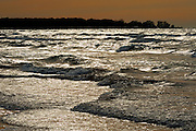 SUnset on Lake Huron<br /> Ipperwash<br /> Ontario<br /> Canada