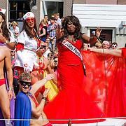 NLD/Amsterdam/20120804 - Canalparade tijdens de Gaypride 2012, Berget Lewis