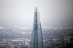 UK LONDON 23MAR19 - The top of the Shard building, Europe's tallest.<br /> <br /> <br /> <br /> jre/Photo by Jiri Rezac/ Led By Donkeys