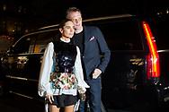 Jennifer Connelly and Paul Bettany at Louis Vuitton's Volez Voguez Voyagez NYC