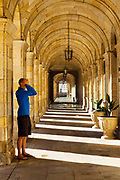 Town hall architecture, Santiago de Compostela, Galicia, Spain, 2017-10-10.