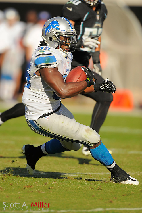Detroit Lions running back Joique Bell (35) runs up field during his team's 31-14 win over the Jacksonville Jaguars at EverBank Field on November 4, 2012 in Jacksonville, Florida. ..©2012 Scott A. Miller..