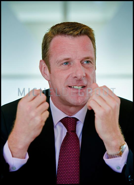 Niek-Jan van Damme, CEO van T-Mobile in Den Haag, The Netherlands on 11 September, 2008. (photo by Michel de Groot)