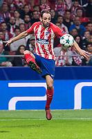 Atletico de Madrid Juanfran Torres during UEFA Champions League match between FK Qarabag and Atletico de Madrid at Wanda Metropolitano in Madrid, Spain. October 31, 2017. (ALTERPHOTOS/Borja B.Hojas)