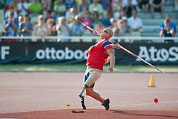STEINSTAD Runar, NOR, Javelin, F42, 2013 IPC Athletics World Championships, Lyon, France