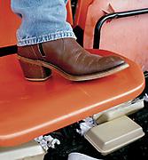 Close-up detail of Cowboy boots. UK 2005
