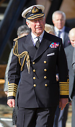 Prince Charles and Camilla visit the Mary Rose Museum, Portsmouth, United Kingdom. Wednesday, 26th February 2014. Picture by i-Images
