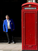 Feature: The Battle of Red and Blue. <br /> <br /> UNITED KINGDOM, London: 07.05.15 This general election has been claimed to be the closest election for decades. As voters go to the polls today, Labour is said to have only a single-point lead ahead of  the Conservatives in the most recent ICM poll. Rick Findler / Story Picture Agency