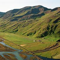 Auðólfsstaðir, Blanda, Bólstaðarhlíðarhreppur /.Audolfsstadir, river Blanda in  Bolstadarhlidarhreppur.