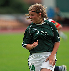 Dragica Stipic of Krka at final game of NZS women football cup between ZNK Pomurje vs ZNK Krka, on June 4, 2008, at ZAK stadium in Ljubljana, Slovenia. Krka won the match 4:1 and became Slovenian Cup Champion. (Photo by Vid Ponikvar / Sportal Images)