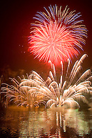 During summer Lake Toya is home to a nightly fireworks show.