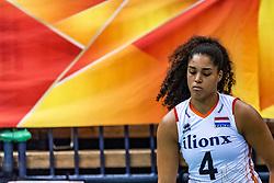 16-10-2018 JPN: World Championship Volleyball Women day 17, Nagoya<br /> Netherlands - China 1-3 / Celeste Plak #4 of Netherlands