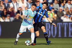 """Foto Filippo Rubin<br /> 07/04/2018 Ferrara (Italia)<br /> Sport Calcio<br /> Spal - Atalanta - Campionato di calcio Serie A 2017/2018 - Stadio """"Paolo Mazza""""<br /> Nella foto: FEDERICO VIVIANI (SPAL)<br /> <br /> Photo by Filippo Rubin<br /> April 07, 2018 Ferrara (Italy)<br /> Sport Soccer<br /> Spal vs Atalanta - Italian Football Championship League A 2017/2018 - """"Paolo Mazza"""" Stadium <br /> In the pic: FEDERICO VIVIANI (SPAL)"""