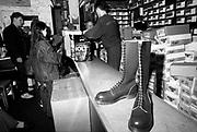 Holts Shoe Shop, Camden, London, UK, 1980s.