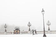 Paris, France. 8 Decembre 2010.Pont Alexandre III..Paris, France. December 8th 2010.Pont Alexandre III