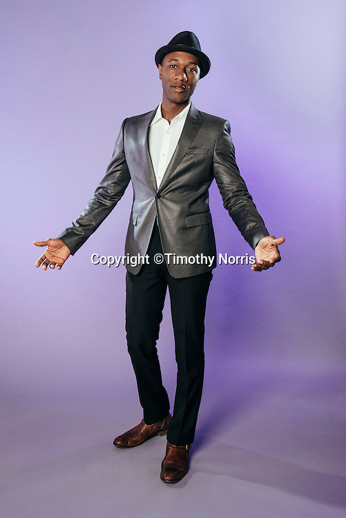 Aloe Blacc photographed on March 19, 2014 in Los Angeles, California.