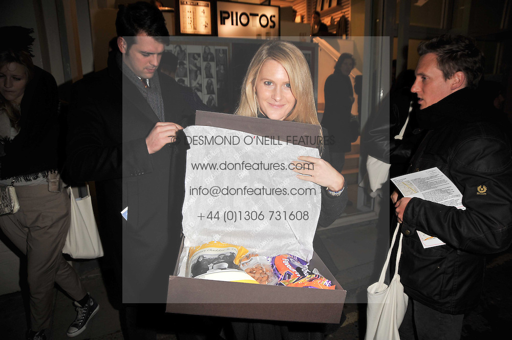 LADY KINVARA BALFOUR at the launch party for Club Monaco at Browns, 32 South Molton Street, London on 16th February 2011.