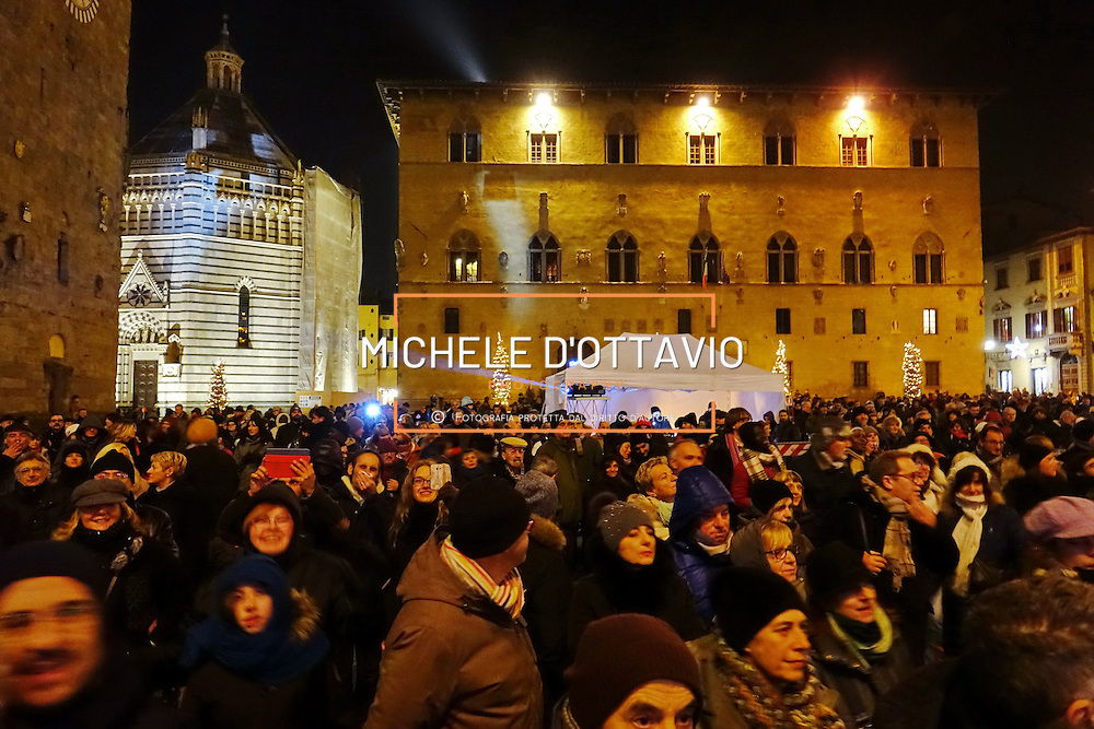 1/01/2017 Capodanno in piazza per celebrare Pistoia Capitale della Cultura italiana 2017