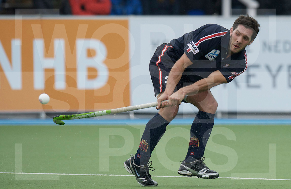 Amstelveen - Euro Hockey league KO16.Rot-Weiss Köln - Royal Leopold HC.foto: Reverse shot by Royal Leopold Hc player Agustin Mazzilli..FFU PRESS AGENCY COPYRIGHT FRANK UIJLENBROEK.