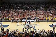 Halftime of Gonzaga Day game vs. Memphis Jan. 31. (Gonzaga photo/Eli Francovich)