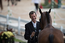 Todd Mark, NZL, Leonidas II<br /> Final Horse inspection Eventing<br /> Olympic Games Rio 2016<br /> © Hippo Foto - Dirk Caremans<br /> 09/08/16