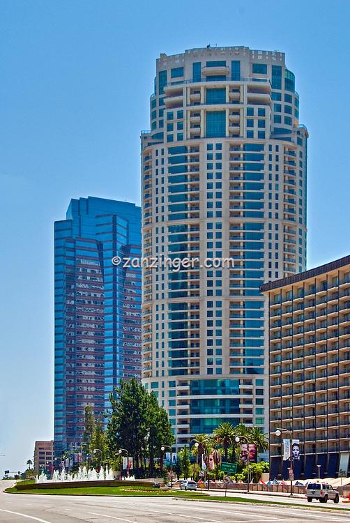 Century City, CA, Architecture, The Century, Fox Plaza, Buildings, Skyscrapers