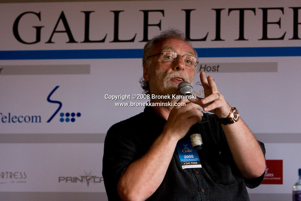 Brian Keenan at the Galle Literary Festival 2008