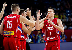 Bogdan Bogdanovic of Serbia during basketball match between National Teams of Italy and Serbia at Day 14 in Round of 16 of the FIBA EuroBasket 2017 at Sinan Erdem Dome in Istanbul, Turkey on September 13, 2017. Photo by Vid Ponikvar / Sportida