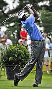 Vijay Singh tees off at the Stanford St. Jude Golf Tournament 2008 held at TPC Southwind Memphis, TN.