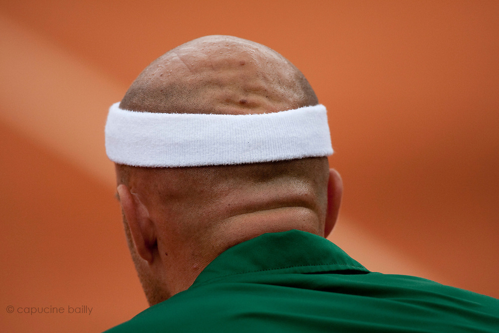 Roland Garros 2011. Paris, France. May 28th 2011..Croatian player Ivan LJUBICIC against Rafael NADAL