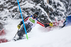 Cairns Alex of Canada during Slalom race at 2019 World Para Alpine Skiing Championship, on January 23, 2019 in Kranjska Gora, Slovenia. Photo by Matic Ritonja / Sportida