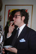 Emanuelle della Valle. Dinner at San Lorenzo, Beauchamp Place after Tod's hosts Book signing with Dante Ferretti celebrating the launch of 'Ferretti,- The art of production design' by Dante Ferretti. 19 April 2005.  ONE TIME USE ONLY - DO NOT ARCHIVE  © Copyright Photograph by Dafydd Jones 66 Stockwell Park Rd. London SW9 0DA Tel 020 7733 0108 www.dafjones.com