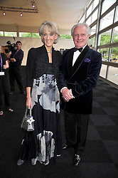 JOANNA TROLLOPE and RICHARD BULLEN at The Butterfly Ball in aid of the Caudwell Children Charity held in Battersea park, London on 14th May 2009.