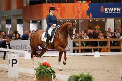 Zweistra Thamar, NED, Hexagon's Double Dutch<br /> KWPN Stallionshow - 's Hertogenbosch 2018<br /> © Hippo Foto - Dirk Caremans<br /> 02/02/2018
